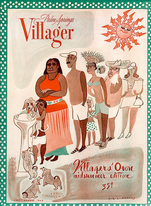 Palm Springs Villager magazine - July-August 1949