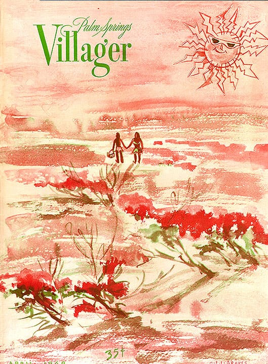 Palm Springs Villager magazine - April 1949