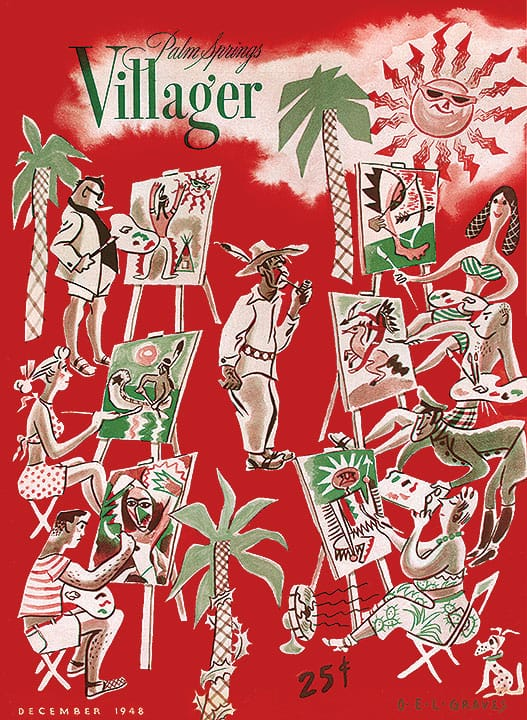 Palm Springs Villager magazine - December 1948