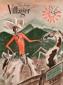 Palm Springs Villager magazine - October 1948