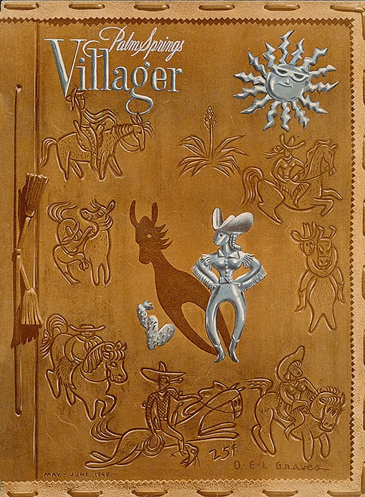 Palm Springs Villager magazine - May-June 1948
