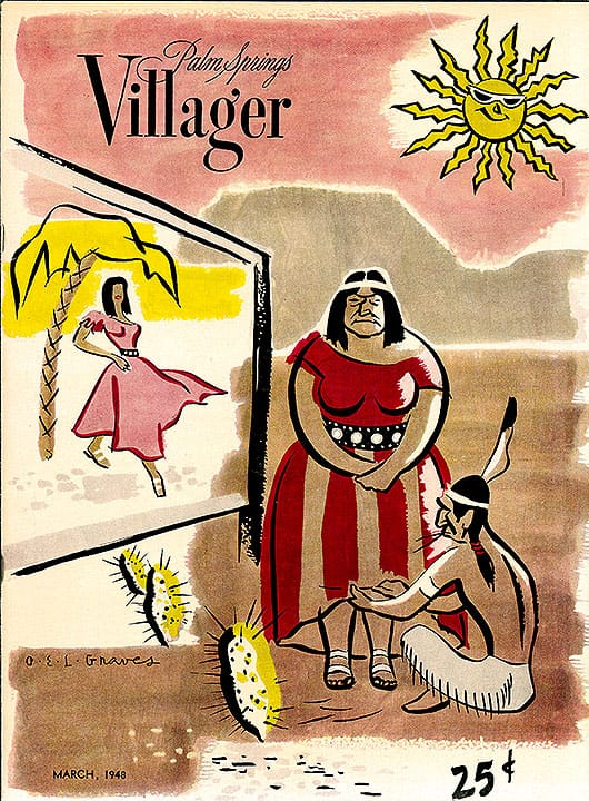 Palm Springs Villager magazine - March 1948