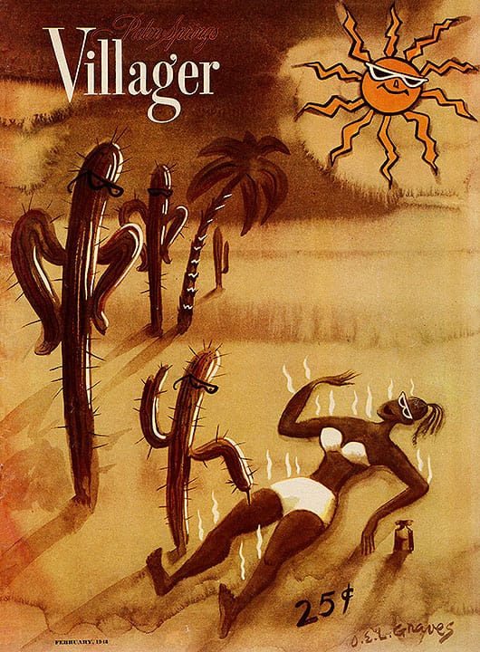 Palm Springs Villager magazine - February 1948