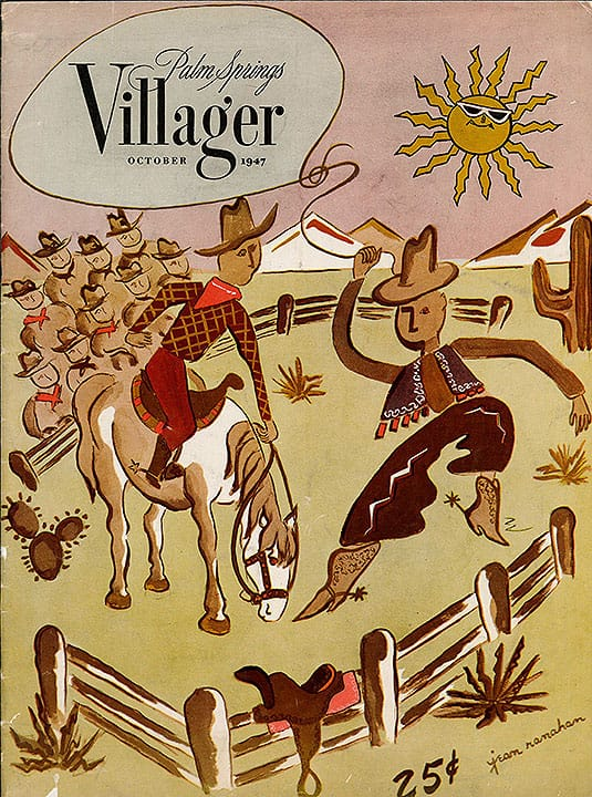 Palm Springs Villager magazine - October 1947