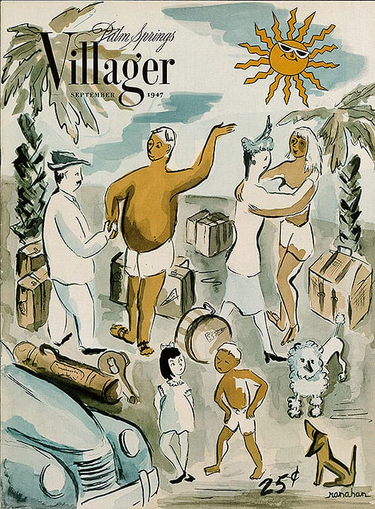Palm Springs Villager magazine - September 1947