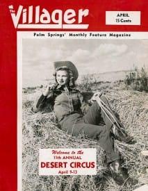 Palm Springs Villager magazine - April 1947