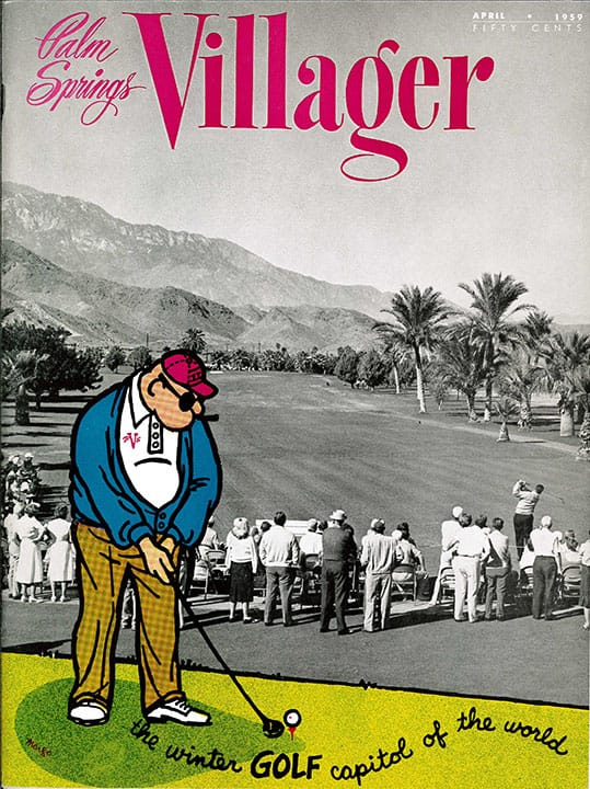 Palm Springs Villager magazine - April 1959