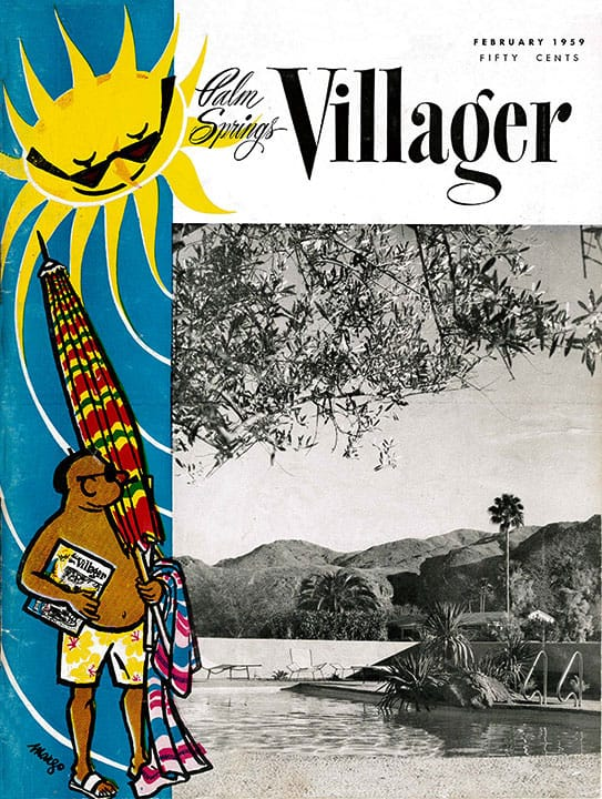 Palm Springs Villager magazine - February 1959