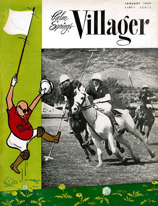 Palm Springs Villager magazine - January 1959
