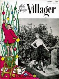 Palm Springs Villager magazine - December 1958