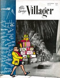 Palm Springs Villager magazine - November 1958