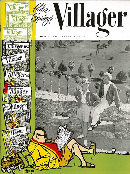 Palm Springs Villager magazine - October 1958