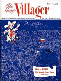 Palm Springs Villager magazine - April 1958