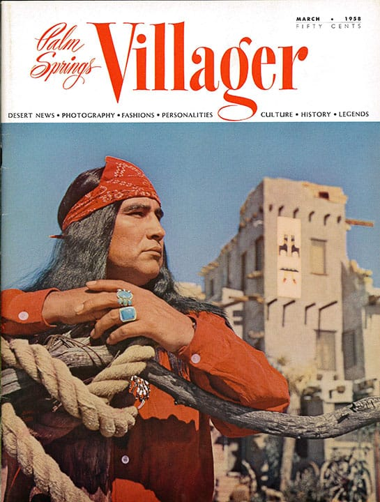 Palm Springs Villager magazine - March 1958