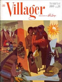 Palm Springs Villager magazine - January 1958