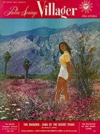 Palm Springs Villager magazine - May 1957