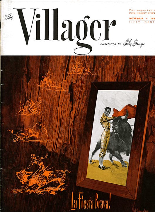 Palm Springs Villager magazine - November 1957