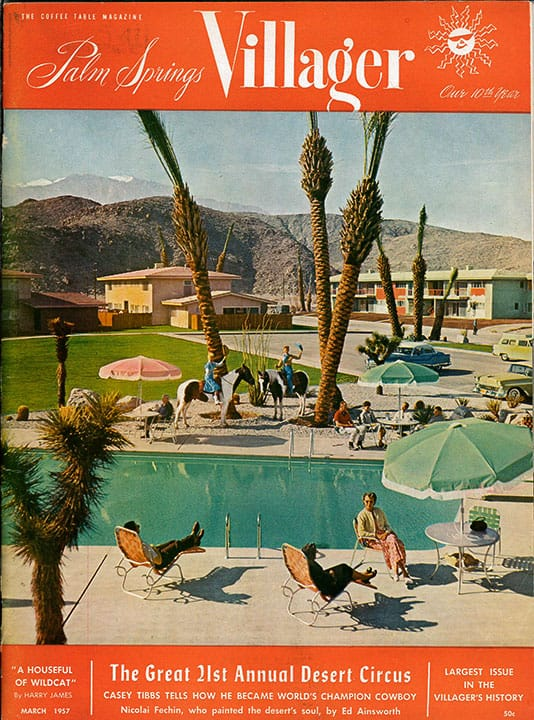 Palm Springs Villager magazine - March 1957
