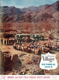 Palm Springs Villager magazine - August 1956
