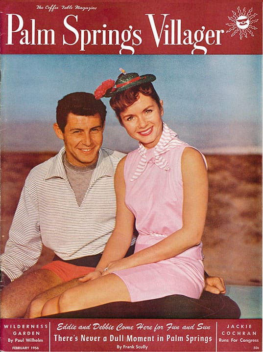 Palm Springs Villager magazine - February 1956