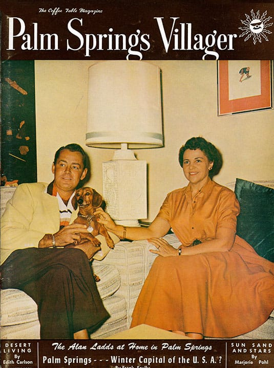 Palm Springs Villager magazine - January 1956