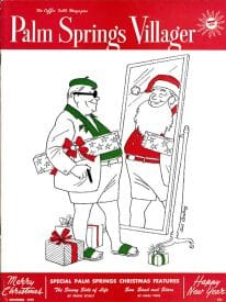 Palm Springs Villager magazine - December 1955