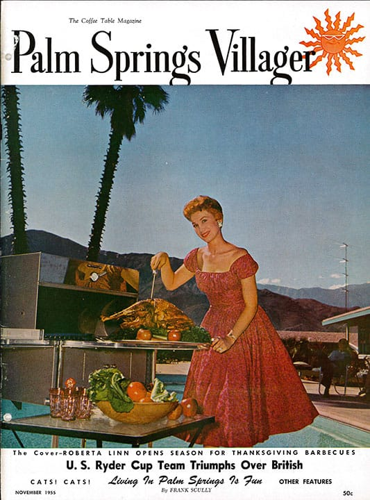 Palm Springs Villager magazine - November 1955