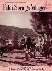 Palm Springs Villager magazine - February 1955