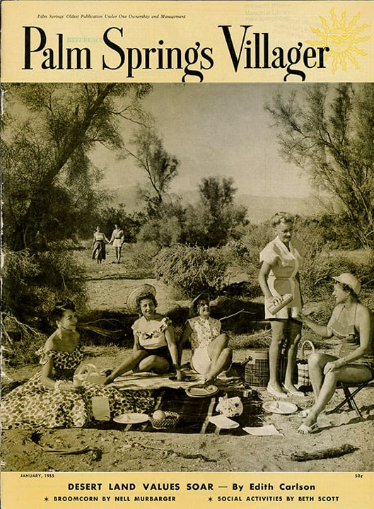 Palm Springs Villager magazine - January 1955