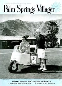 Palm Springs Villager magazine - December 1954