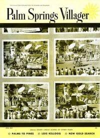 Palm Springs Villager magazine - April 1954