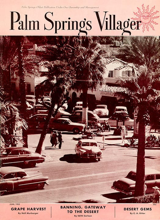 Palm Springs Villager magazine - June 1953