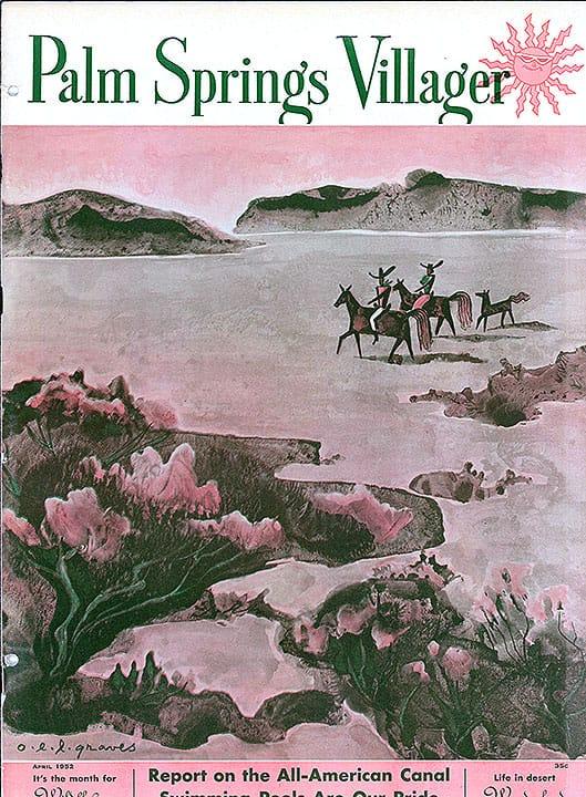 Palm Springs Villager magazine - April 1952