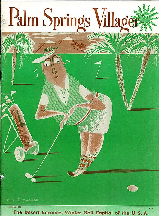 Palm Springs Villager magazine - March 1952