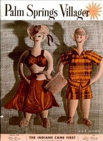 Palm Springs Villager magazine - February 1952