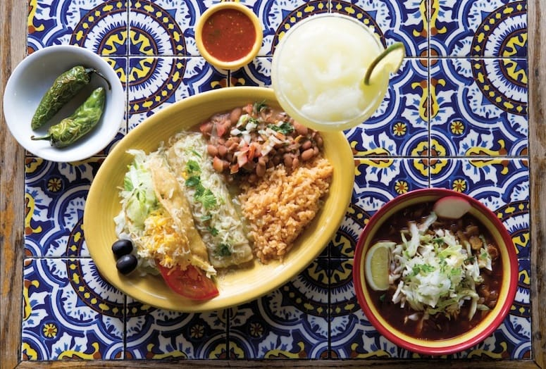 Mexican cuisine from Las Casuelas Palm Springs