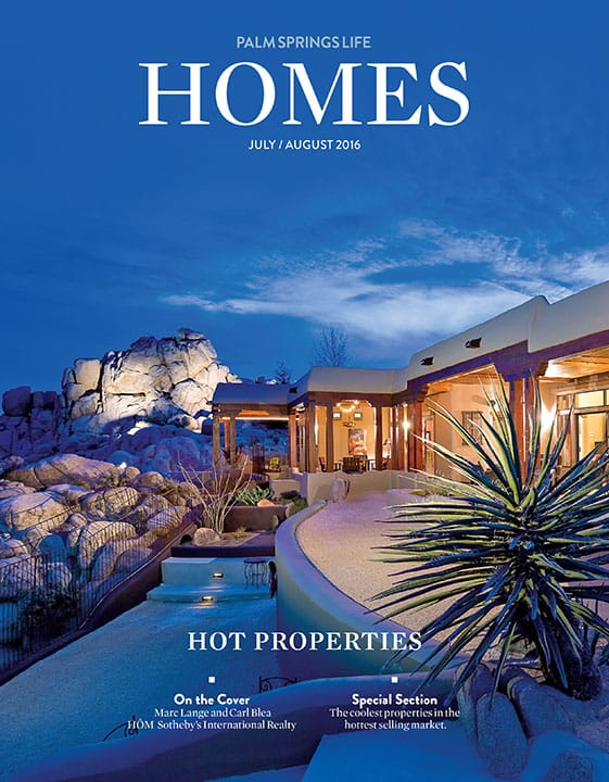 Palm Springs Life HOMES July-August 2016