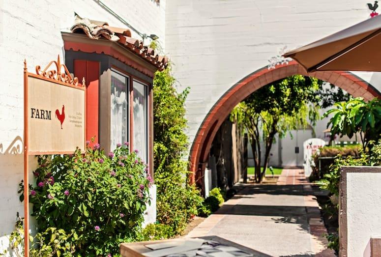 Exterior of FARM Palm Springs
