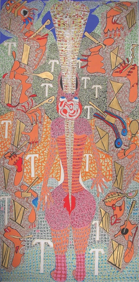Artist Linda Sibio