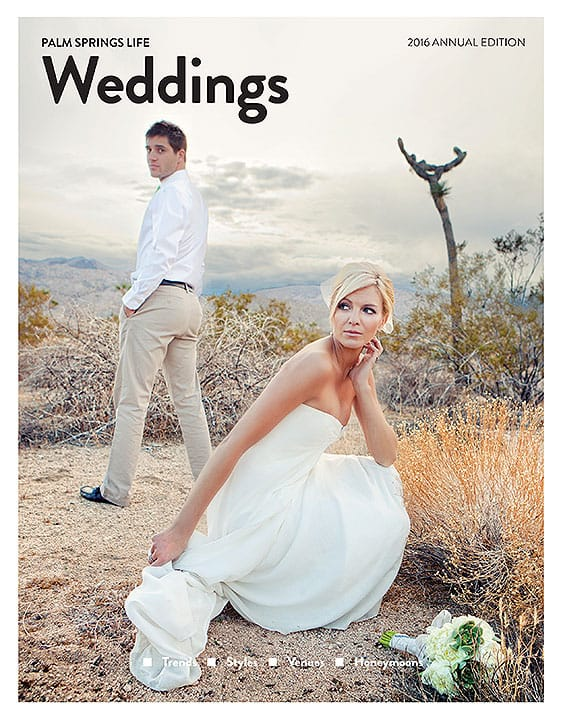 Palm Springs Life Weddings 2016
