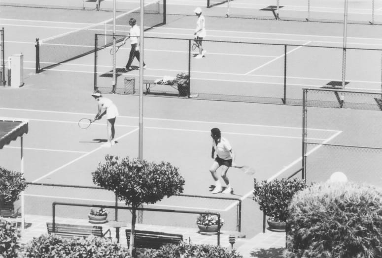 Vintage photo - The Tennis Club Palm Springs