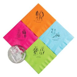 Rovinsky's Palm Springs Cocktail Napkins