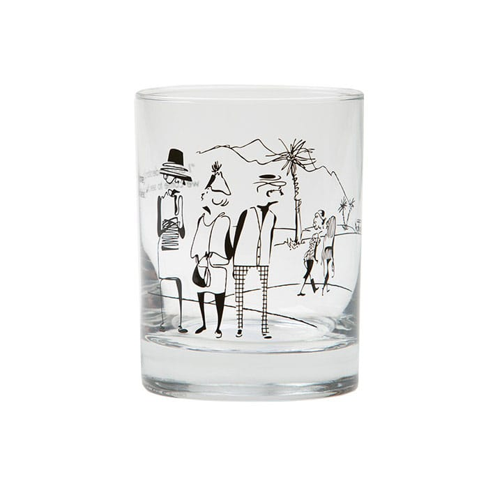 Rovinsky's Palm Springs Cocktail Glass