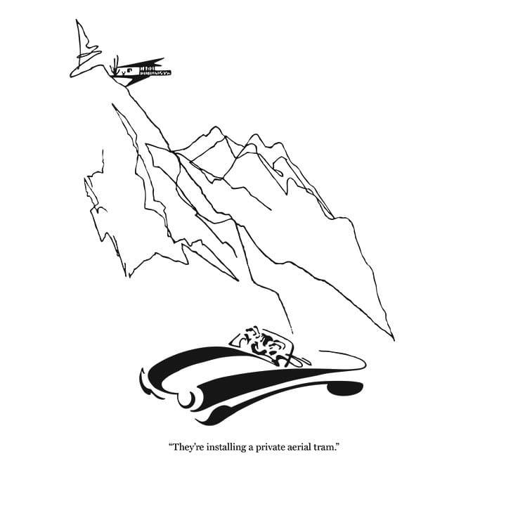 Rovinsky's Palm Springs Cartoon Prints