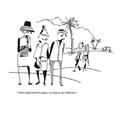 Rovinsky's Palm Springs Cartoon Prints