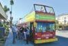 Modernism Week double-decker bus