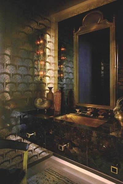 Sean Gaston Designs Sexy Powder Rooms