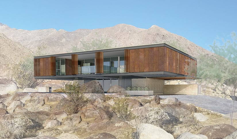 Al Beadle - Chino Canyon Project Rendering #2