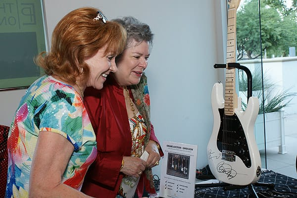 Grayse Celebrates Desert Trip with Performer's Autographed Guitars, Oct. 6, 2016