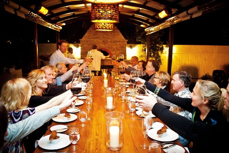 Communal Dinng in Greater Palm Springs